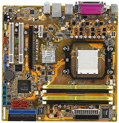 Amazon.com: ASUS M2NPV-VM AM2 NVIDIA 6150 DDR2 – 800 NVIDIA ...