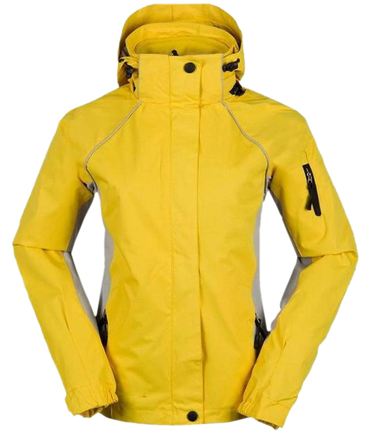 XQS Women Snowproof Thickened Casual Jacket Mountain Jacket Ski