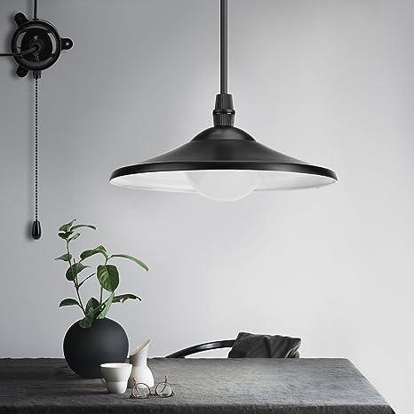 Funciona con energía solar lámpara de techo colgante al aire ...