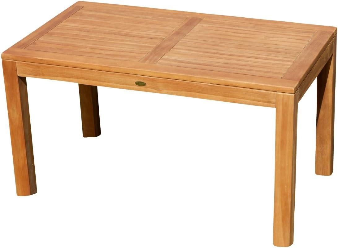 ASS Wuchtiger Teak Bigfuss Gartentisch 41x41 Holztisch Teaktisch Garten  Tisch Holz von