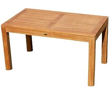 ASS Wuchtiger Teak Bigfoot Gartentisch 140x80 Holztisch Teaktisch Garten Tisch  Holz Von