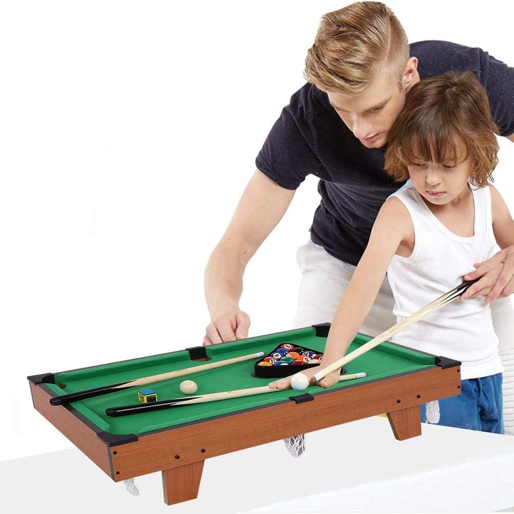 Mini Pool Table Children Pool Snooker Billiard Cue Ball Family Game Indoor Sport