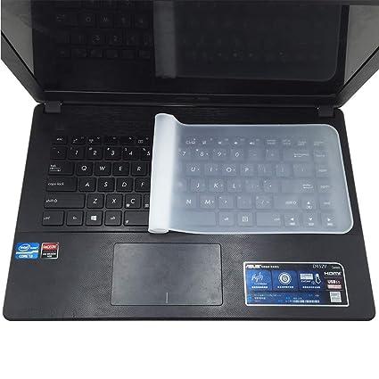 Ogquaton 1 Pieza Conveniente y práctica para computadora portátil Cubierta Superior para Teclado, película Protectora