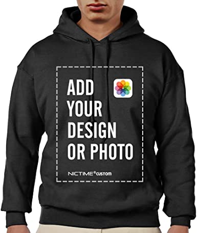 Create your design Add your own photo Add a picture on your custom-made Sweatshirt Men Custom picture