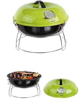 Carbón vegetal Barbacoa Acero Inoxidable Camping Grill - Parrilla de ...