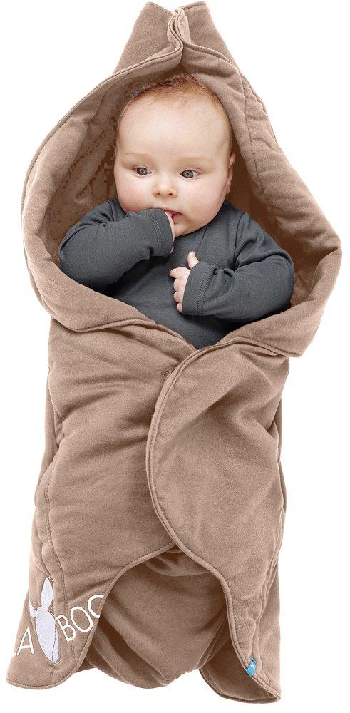 Wallaboo Baby Blanket Fleur, Super Soft 100 Percent Pure Cotton, Practical Car Seat Blanket, Flower Shape, Dimensions 34-Inch X 34-Inch, 0-12 Months, Sky Blue Wallaboo BV WWF.0310.1906