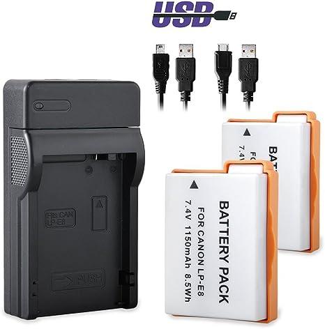 LP-E8 Recargable & Cargador: Amazon.es: Electrónica