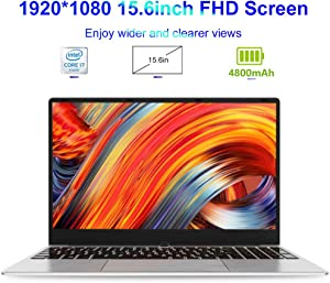 LHMZNIY S3m 15.6 inch Laptops, Equipped with Intel I7-4500U Processor Up to 3.0 GHz 8G RAM / 16G RAM Full-Size Keyboard Narrow Bezel Notebook(16G RAM+256G SSD+1T HDD)