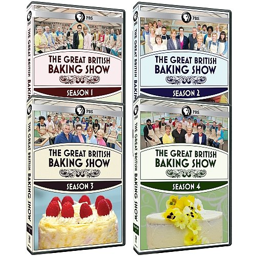 The Great British Baking Show: Complete Seasons 1-4 DVD Collection (Best Definition Of Research)