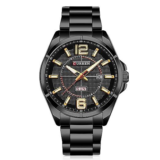 CURREN Reloj de hombre, nuevo reloj analógico - Digital para hombre top brand Quartz (