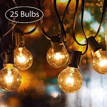 Garten Lichterketten Tronisky Schnur Lichter Innenaußen