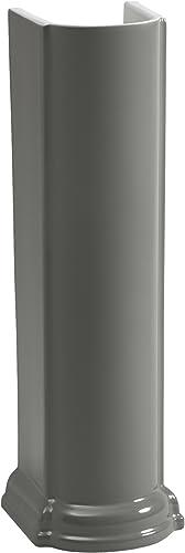 Kohler K-2288-58 Devonshire Pedestal Only, Thunder Grey