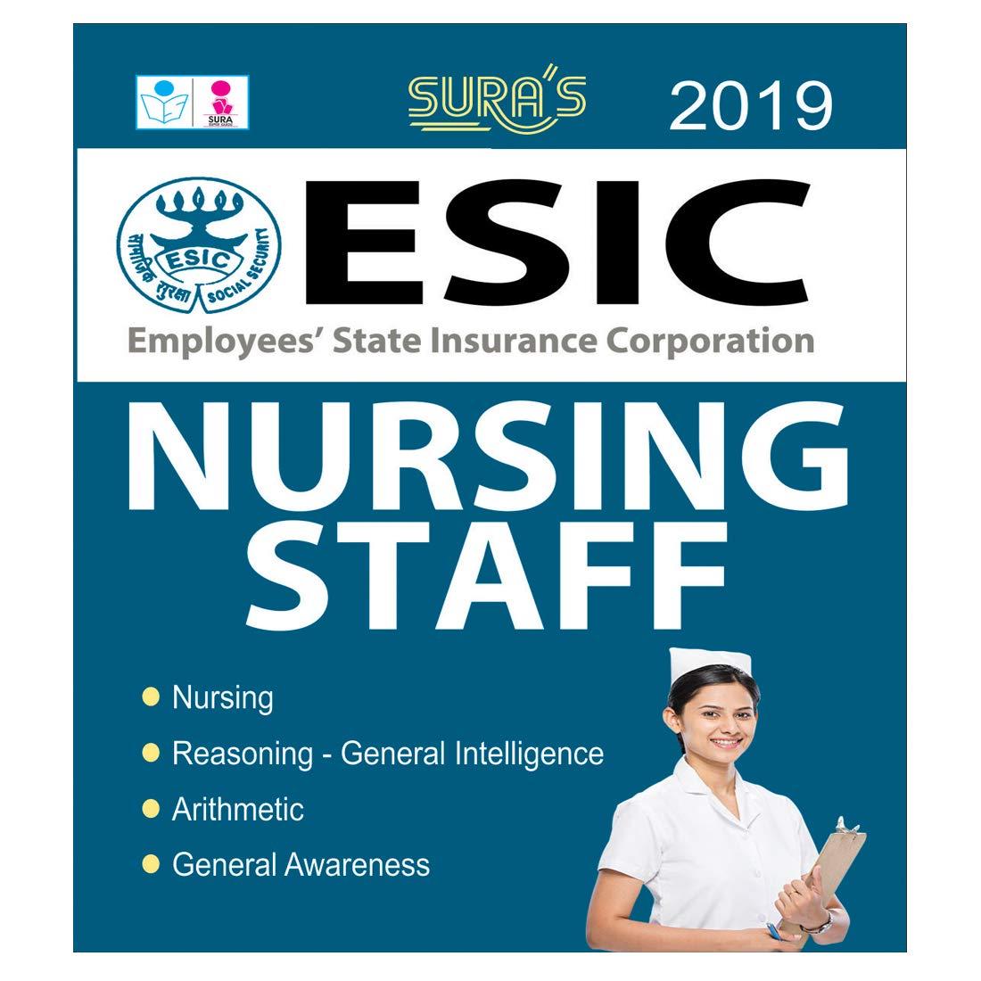 Buy ESIC Nursing Staff Exam Books Study Materials Book