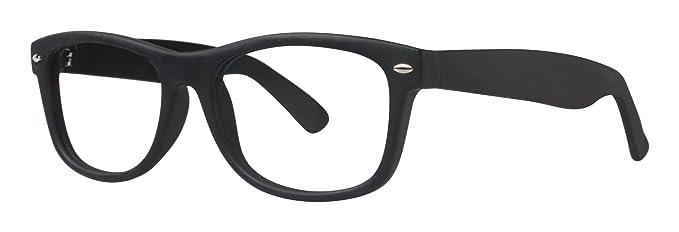 89d07fc4235d Metropolitan Unisex Eyeglasses - Modern Collection Frames - Black Matte  53-18-150