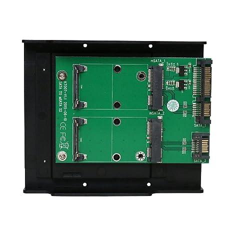 Maiwo msatax2 SSD a 3,5 pulgadas SATA convertidor con soporte ...
