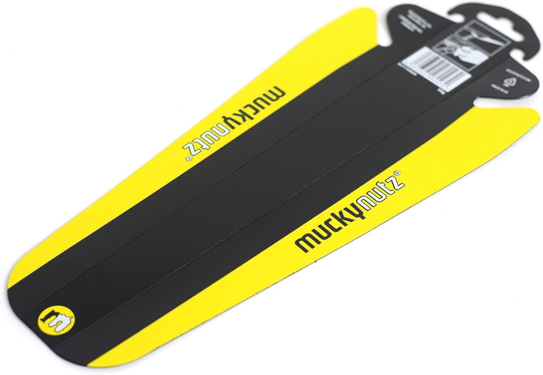 Mucky Nutz Butt Fender Rear Mountain Bike Mudguard Black//Yellow