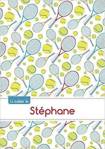 CAHIER STEPHANE SEYES,96P,A5 TENNIS pdf epub