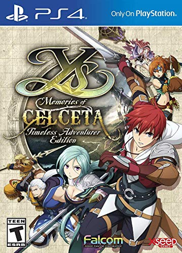 Ys: Memories of Celceta - Timele...