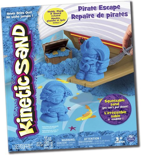 Kinetic Sand Pirate Adventure Set (Pirate Adventure Fun Kit)