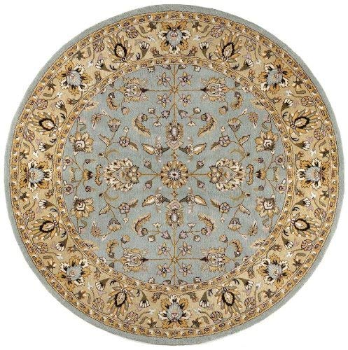 Traditions Waterford Round Rug, 8 x 8 , Sea Foam
