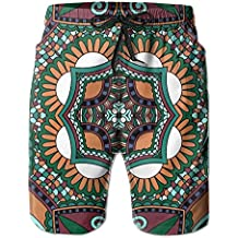 Newest - Men Travel Summer Quick Dry Board Shorts - Colorful Color