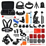 Toughsty™ 48-in-1 Action Camera Accessories Bundle Kit for GoPro Hero 5 4/3+/3/2/1 Outdoor Sports Camera Accessories