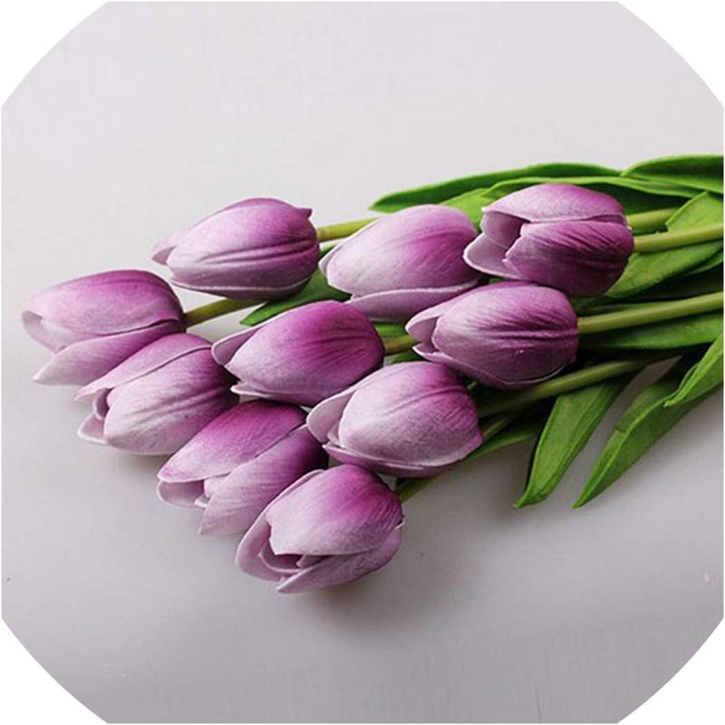 New 1PC PU Mini Calla Lily Artificial Flower Wedding Bouquets Home Party Decor