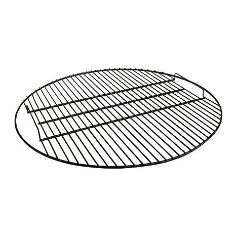 Sunnydaze Negro Fire Pit Parrilla para Asar, 19 cm diámetro ...
