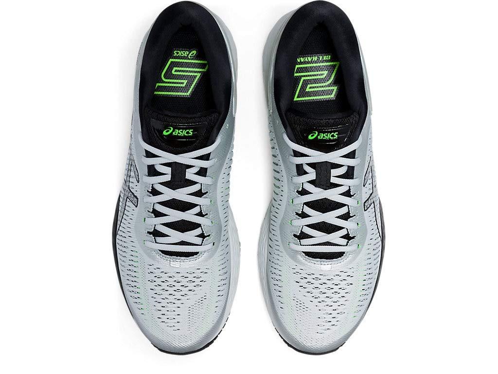 ASICS Men's Gel-Kayano 25 Running Shoes, 7M, Mid Grey/Green Gecko by ASICS (Image #2)