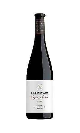 Cepas viejas vino tinto elaborado con la variedad mencía, procedente de cepas de más de