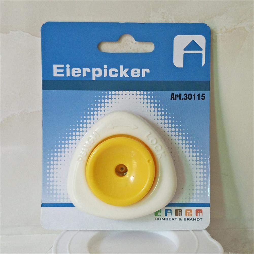 White//Yellow Innovative Egg Piercer Pricker Dividers Beater rosemaryrose Egg Piercer