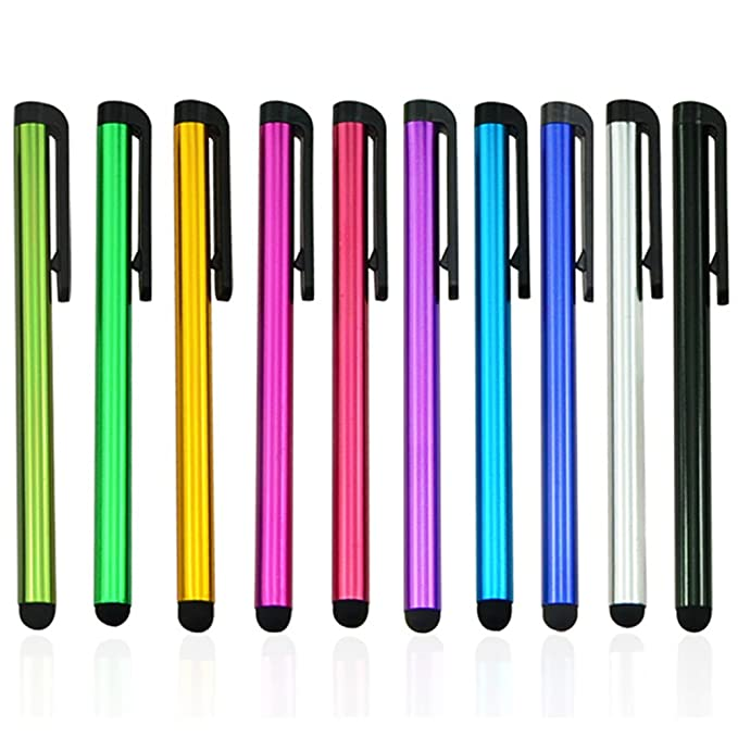 Metal Universal Touch Screen Pen Stylus Fr Cell Phone iPhone iPod iPad Tablet PC