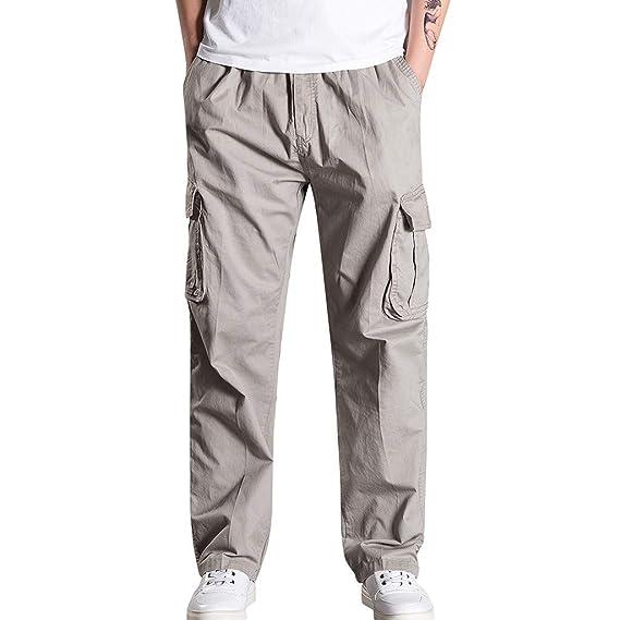 Pantalones Cargo Casuales de Hombre Pantalones para Hombre Chándal ...