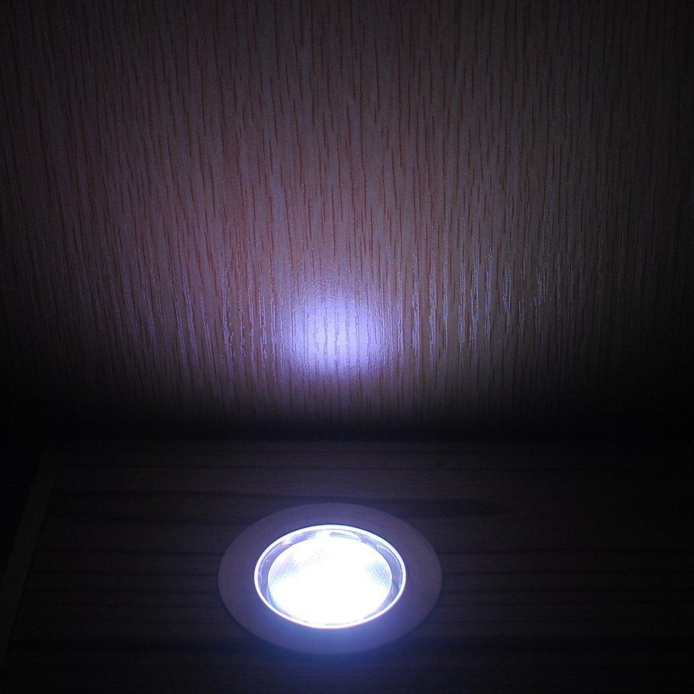 Led Bodeneinbaustrahler Rgb Boden Lampe O45mm 12v Ip67 Wasserdicht