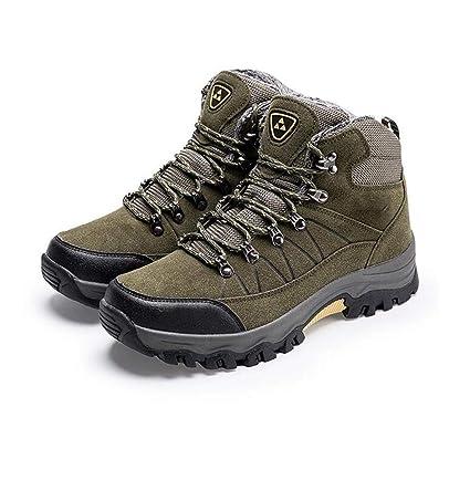 b5780ca7048b4 Amazon.com: FGSJEJ Men's Outdoor Snow Boots Waterproof Winter Travel ...