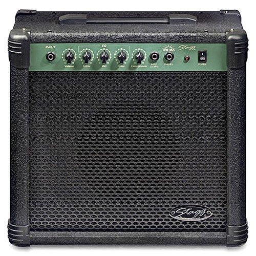 Stagg 20 BA - Amplificador para guitarra y bajo: Amazon.es: Instrumentos musicales