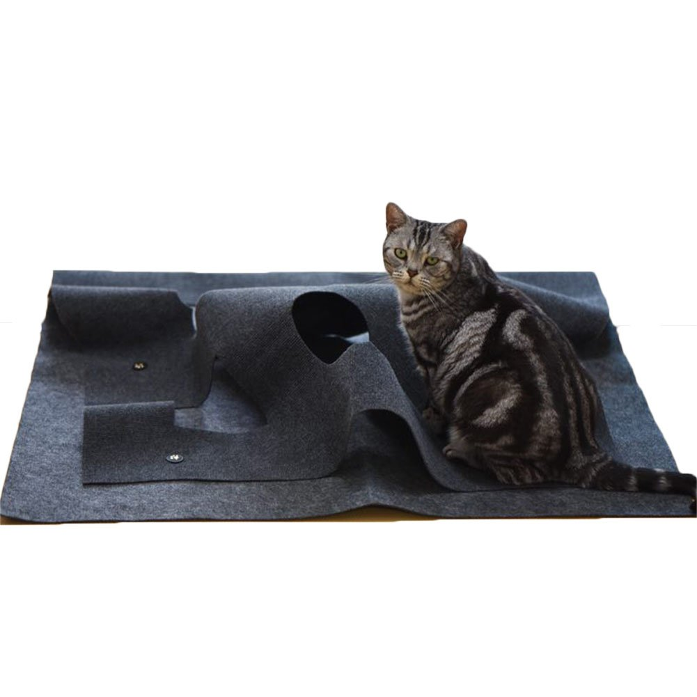 ETbotu Creative Pet Hole Mat for Dog Cat Toys Cushion Placemat Pet Supplies