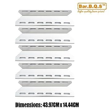 bar. b.q.s h92341 (5-Pack) parrilla de Gas placa de calor de ...