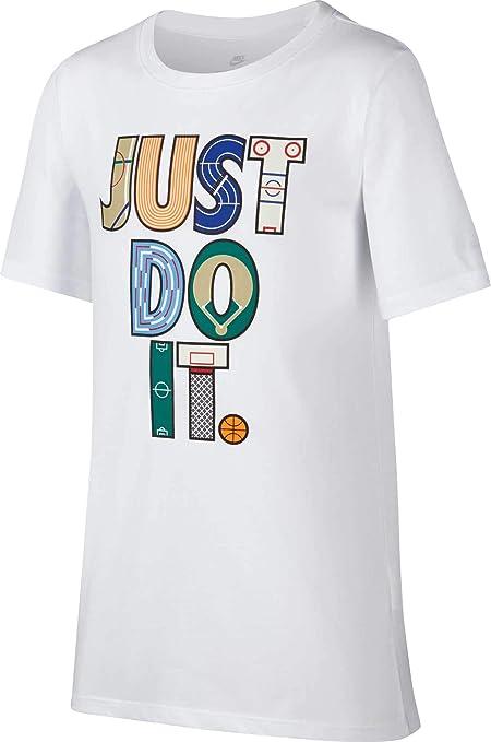 b7bd4eae2a Amazon.com  NIKE Boy s Sportswear Just Do It Sport Graphic Tee ...