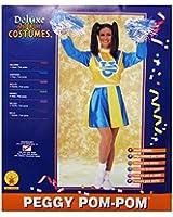 Rubie's Womens 'Peggy Pom-Pom' Halloween Costume