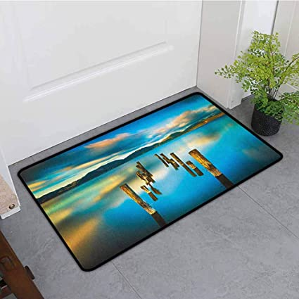 Amazon.com: ONECUTE - Felpudo con diseño de paisaje ...