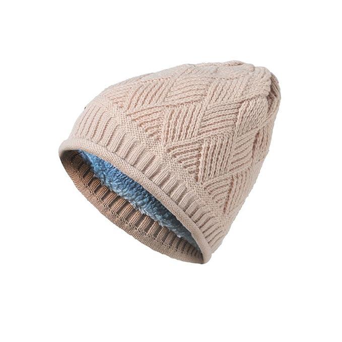 Thicker Plus Terciopelo Algodón Otoño E Invierno Tejido Sombrero De ...