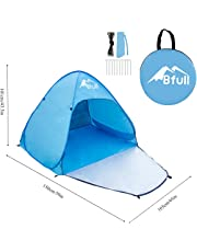 Bfull Outdoor Automatic Pop up Beach Tent, Blue