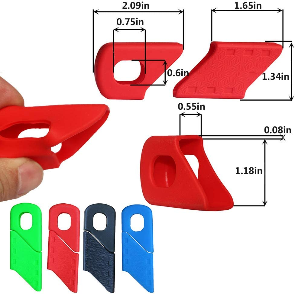 Silicone Mountain Bike Crank Boot Protector zowam Bicycle Crank Protector Crank Defenders Protect The Crank Arm of The Bicycle from Scratches and Rubbing