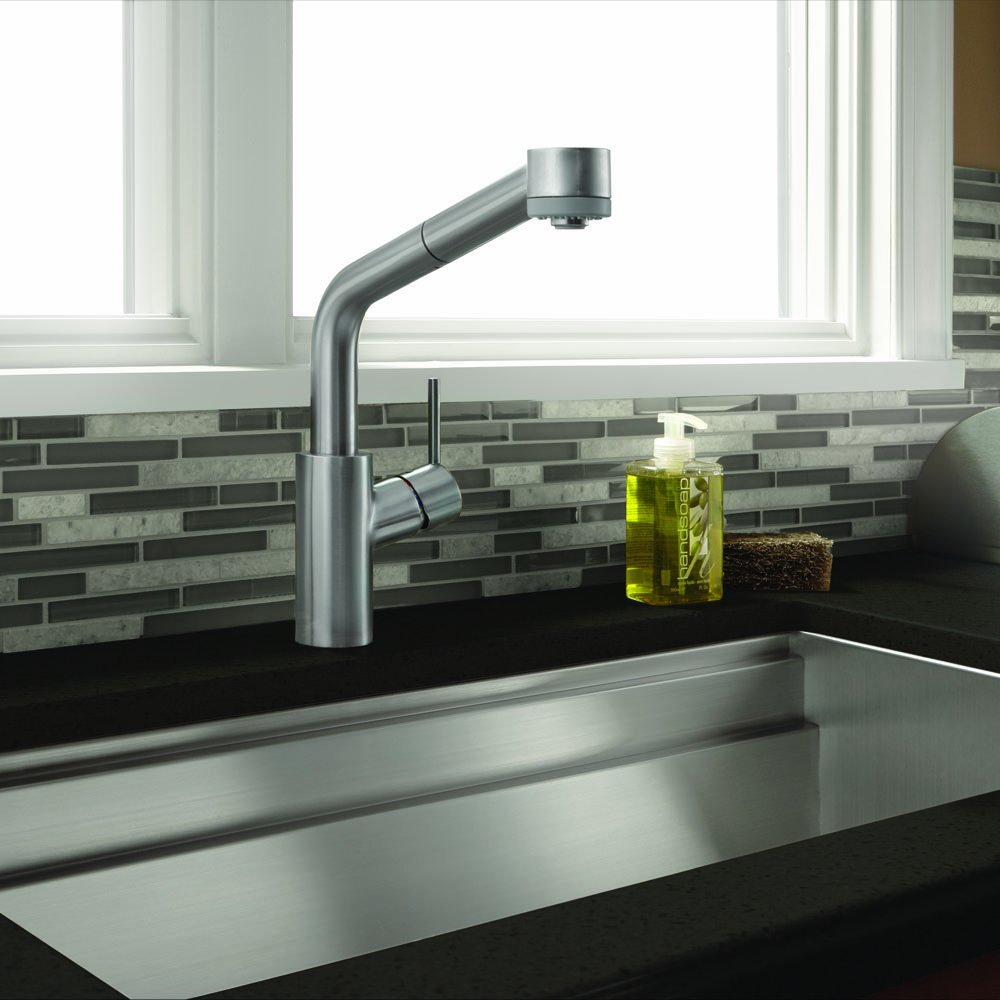 HG Talis S Hybrid Kitchen Faucet - Touch On Kitchen Sink Faucets ...