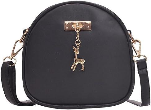 Ridkodg Adorable Cute Crossbody Bag for Women Lightweight Medium Leopard Print Shoulder Bag Messenger Bag with Zipper