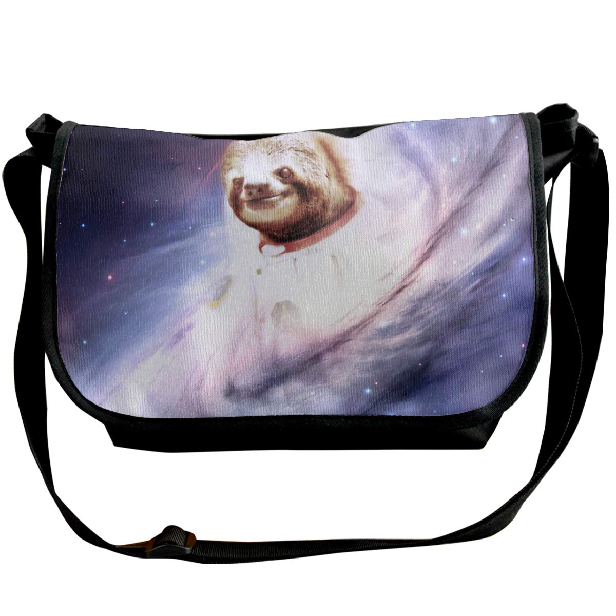 Futong Huaxia Astronaut Sloth Travel Messenger Bags Handbag Shoulder Bag Crossbody Bag Unisex