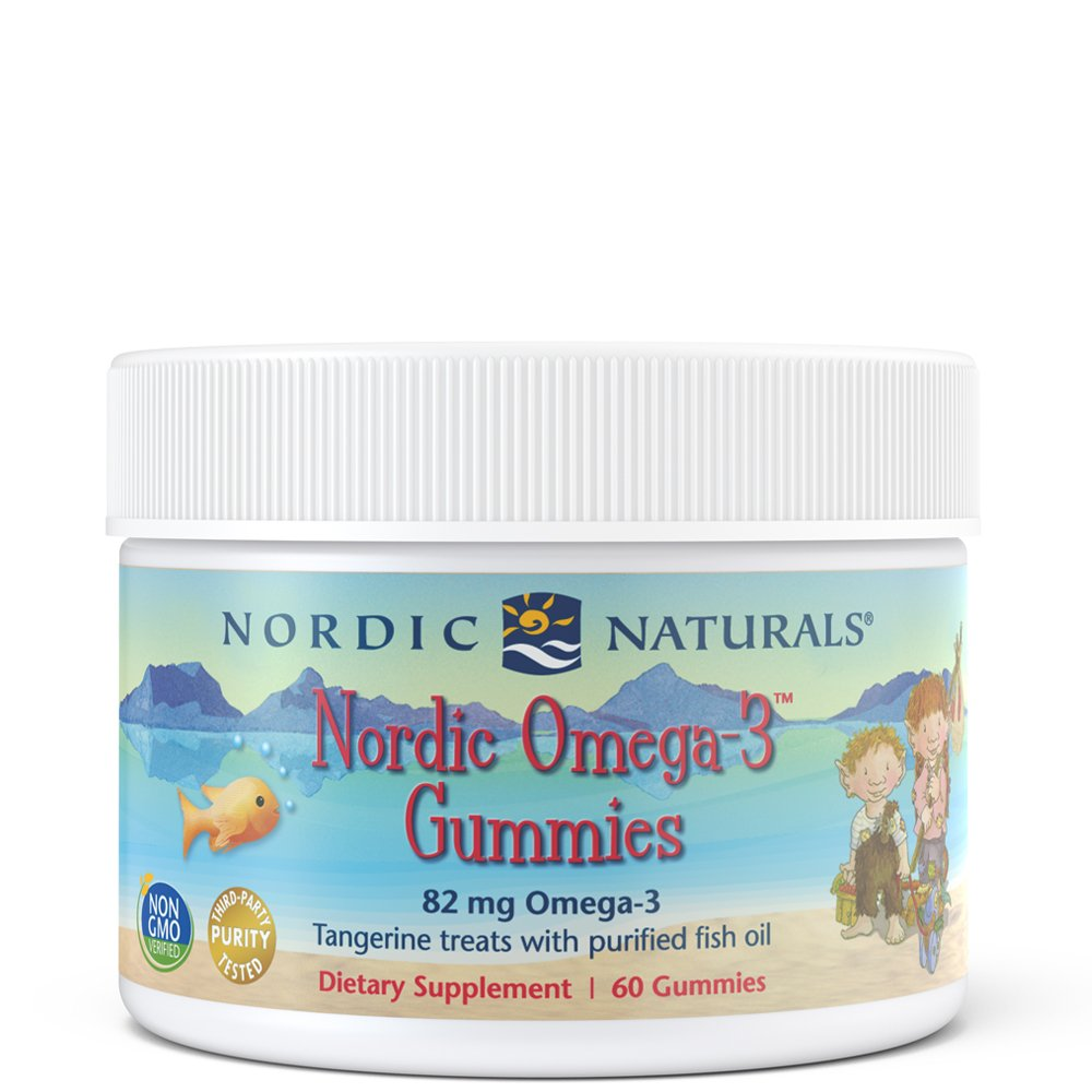Nordic Naturals - Nordic Omega-3 Gummies, Supports Optimal Brain and Immune Function, 60 Count