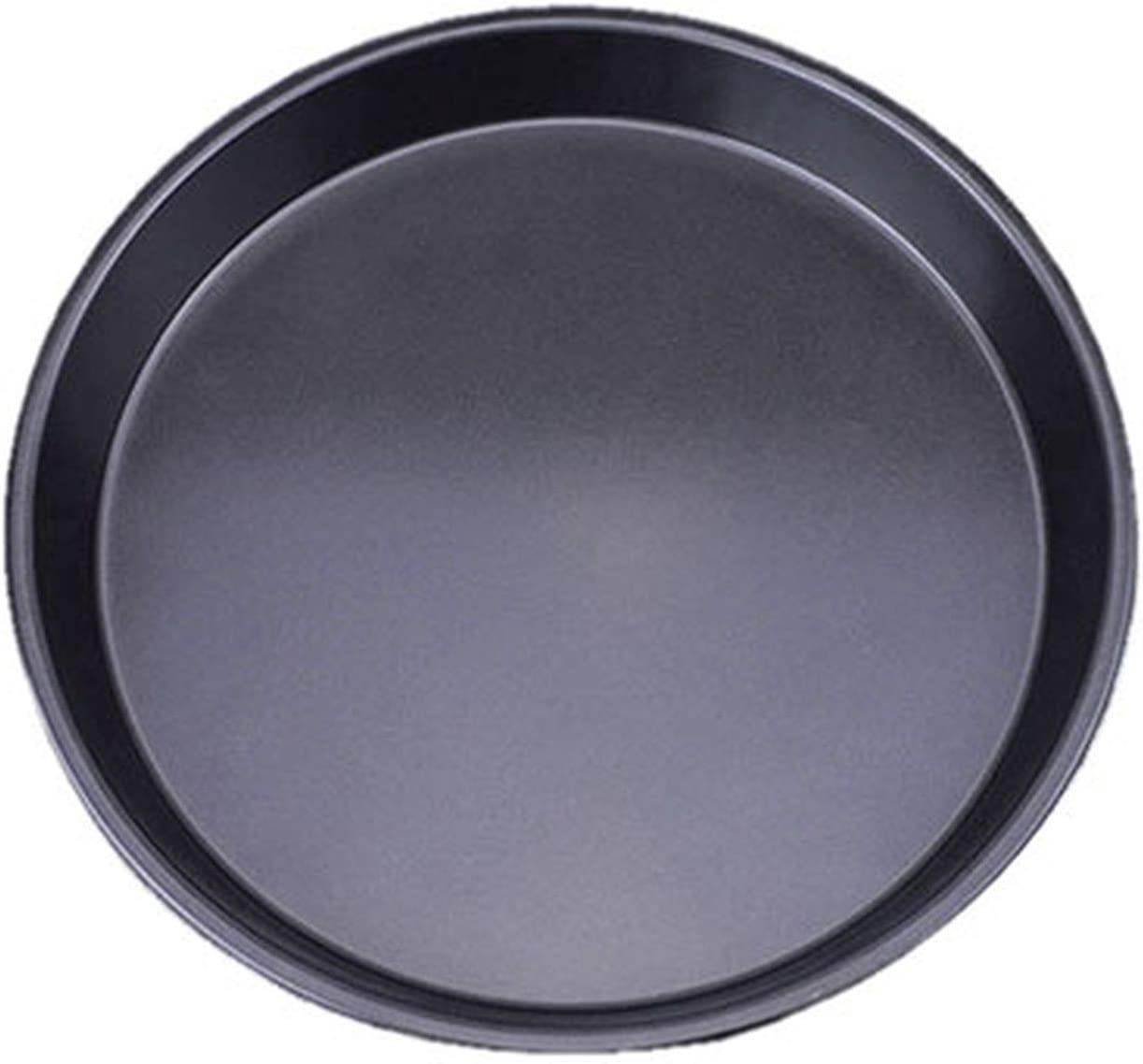 1Pcs Kitchen accessories Non Stick Carbon Steel Thicken Round Pizza Pans Baking Dish Bakeware Tray Parquet baking pan mould,Dark Khaki