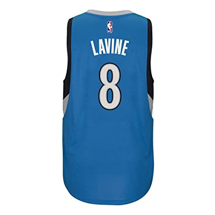 adidas Zach LaVine Minnesota Timberwolves NBA Blue Official Climacool Away  Road Swingman Jersey for Men ( 4daf3f10a